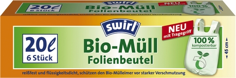 Биоразлагаемые мешки Swirl®