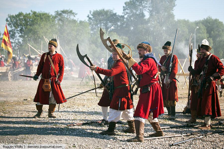 Реконструкция Московской битвы 1612 года в Коломенском