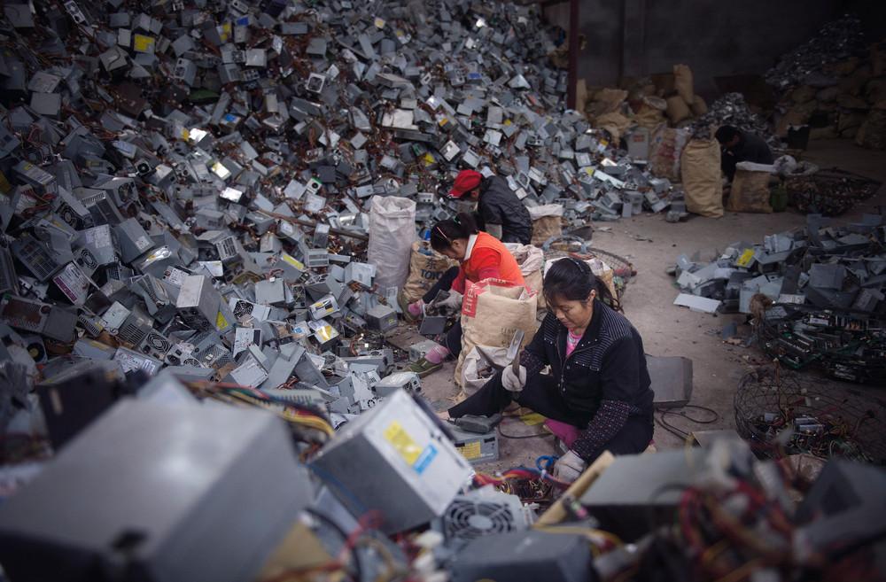 Отходы электроники травят людей