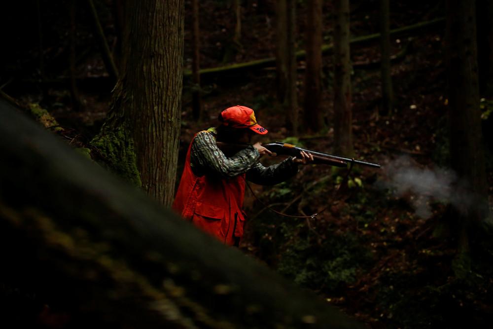 Женщины-охотники Японии