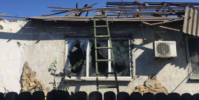 2 мирных жителя ранены из-за обстрела боевиками в Донецкой области, - Нацполиция