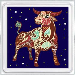 Магнит сувенирный Знак Зодиака Телец