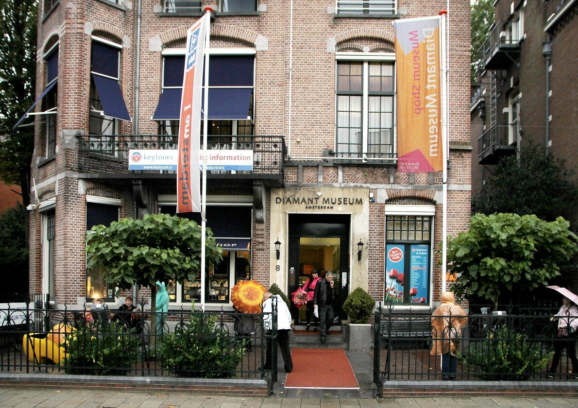 Amsterdam. Diamond museum