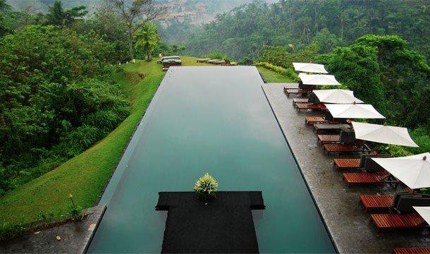 5. La View (Убуд, Бали) Обедая или ужиная в этом ресторане, вы параллельно с приемом пищи сможете ещ