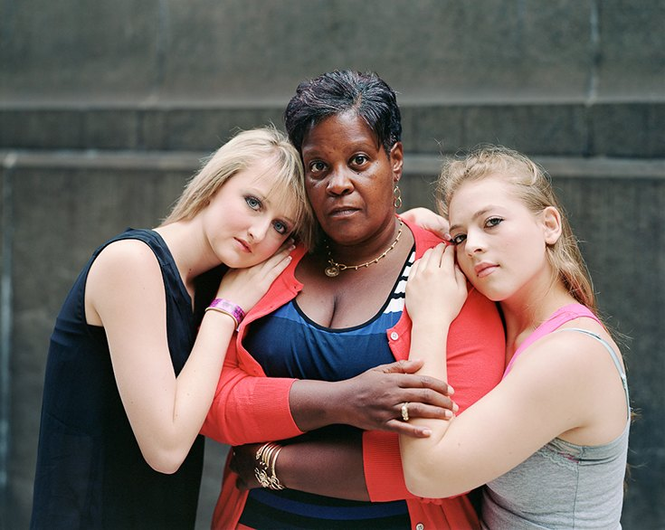 Хантер, Маргарет и Эбигейл, Нью-Йорк, 2013.