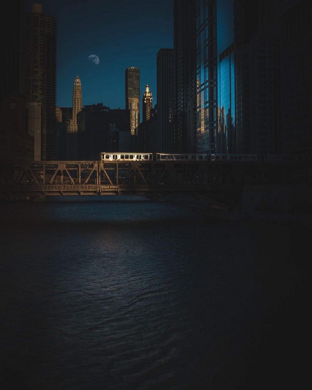 Хмурый Чикаго от Майка Майерса (13 фото)