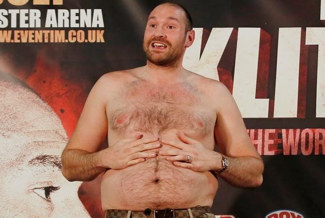 Британский боксер Тайсон Фьюри сдал 2-ой положительный допинг-тест накокаин