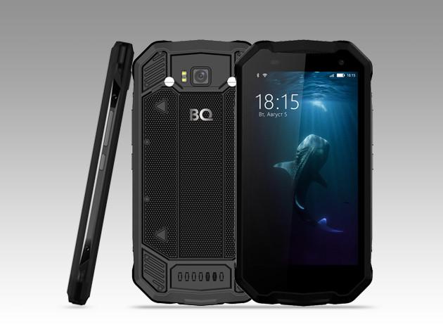 Смартфон BQ-5033 Shark небоится дождя идуша