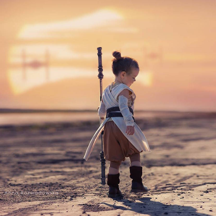 Cute Kids Dressed as Famous Movie Characters