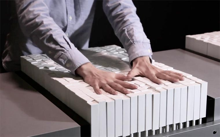 Materiable - A surprising tactile display