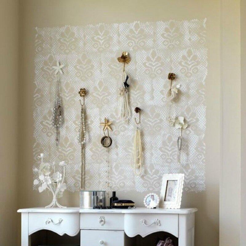 Идеи декорирования кружевом