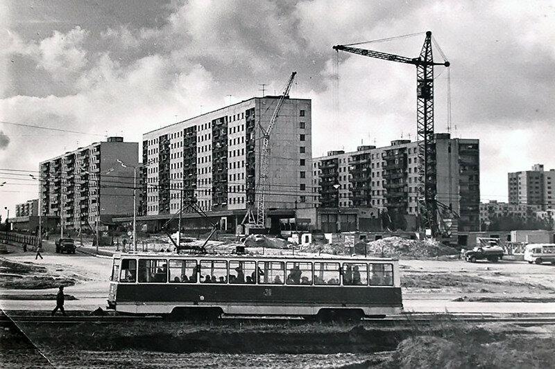 Старый Оскол 1980-е, фото из архива БГИКМ