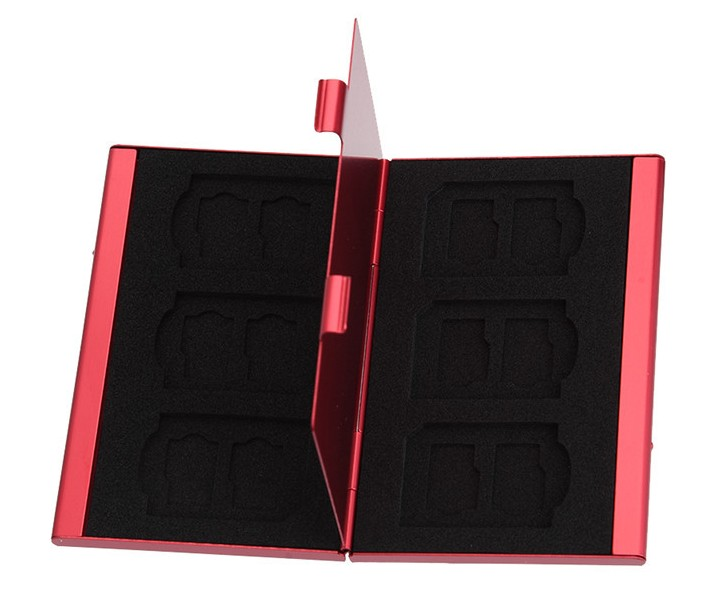 Кейс для хранения Micro SD и SD Карт