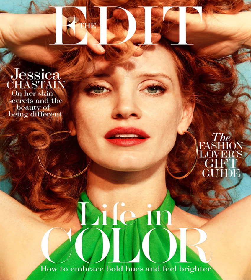 Jessica Chastain - The Edit (December 1 2016)