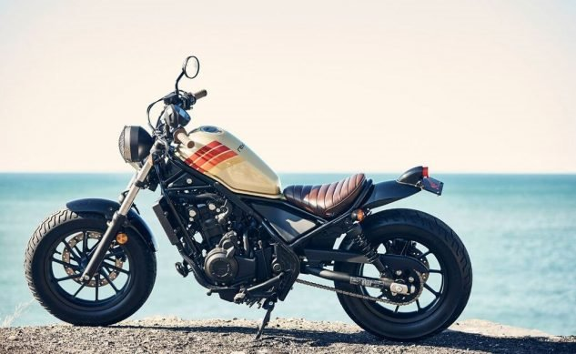 Компания Honda представила мотоцикл Honda Rebel Aviator Nation 2017 на фестивале SXSW