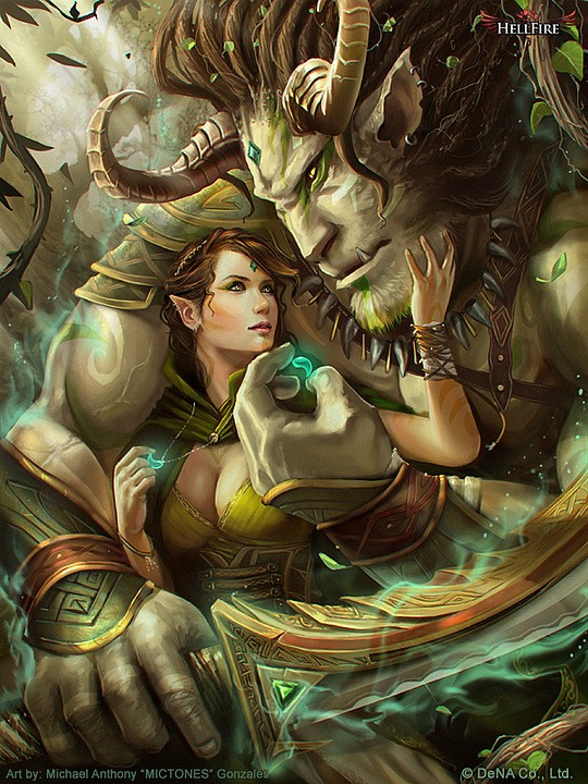 Hot Fantasy Illustrations by Michael Anthony Gonzales