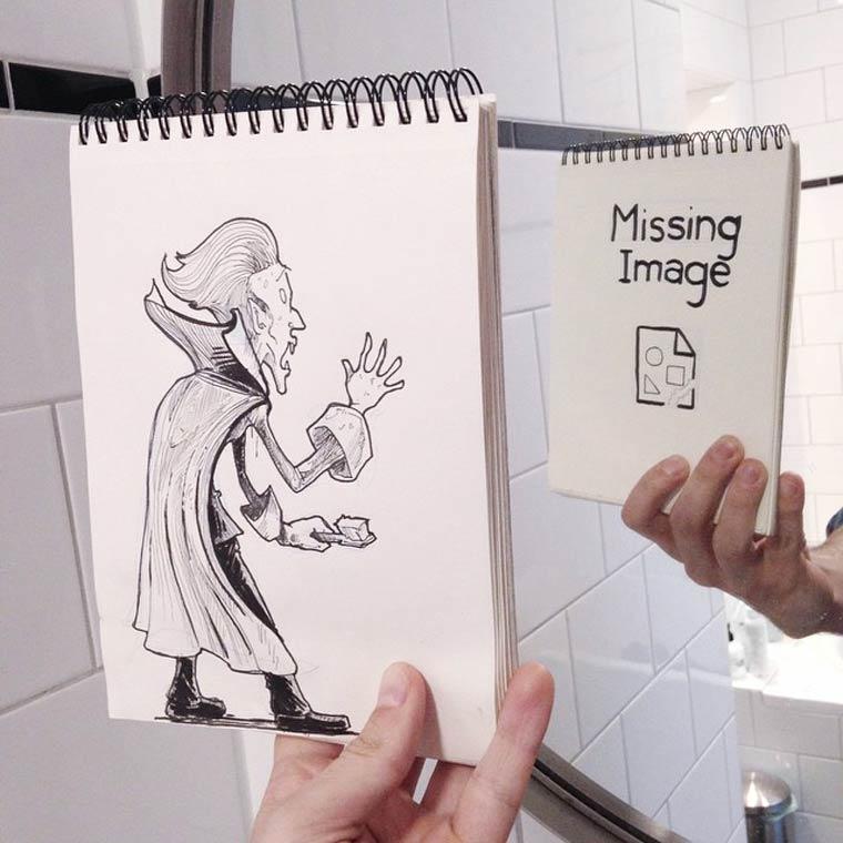 Cartoon Bombing - 37 nouvelles illustrations inserees dans la realite