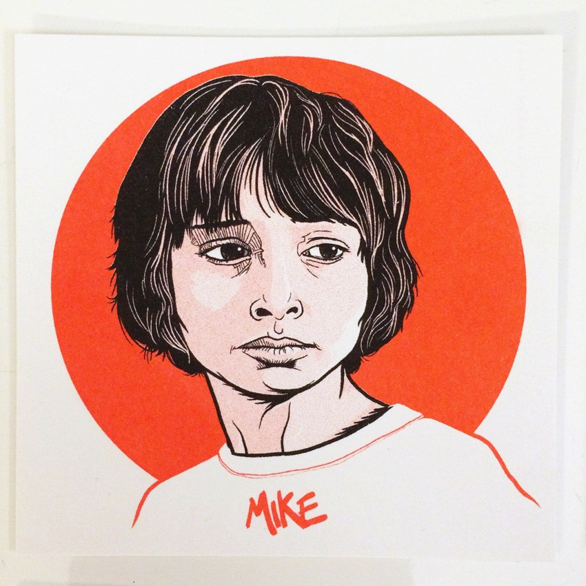 Get Yourself the Stranger Things Mini-Prints Set by Patrick Connan and Do A Good Deed ! (6 pics)