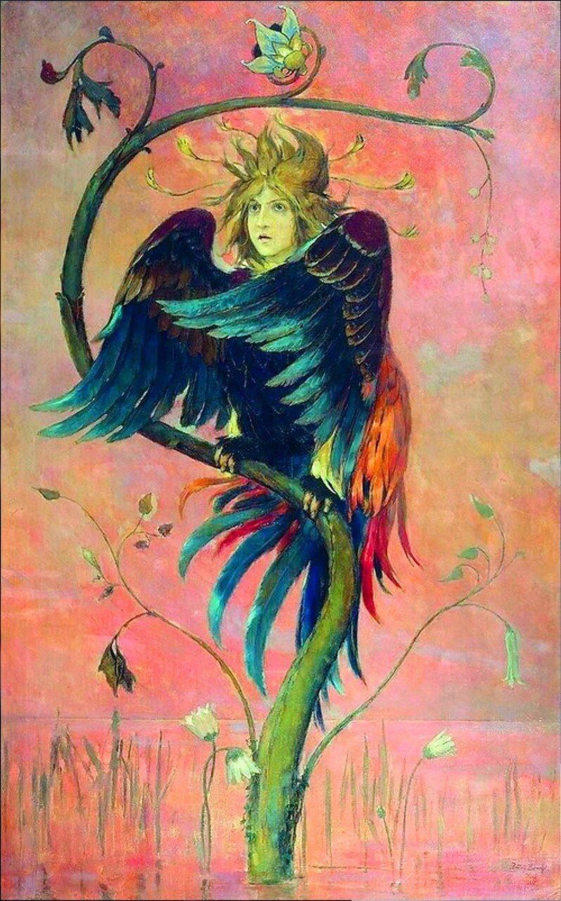 Гамаюн, птица вещая. Художник Виктор Васнецов. 1897-й год. .jpg