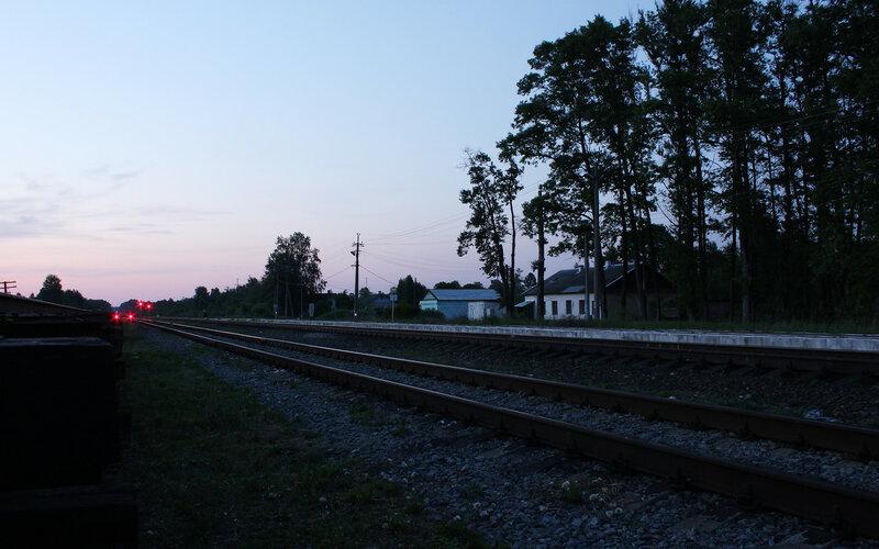 Панорама станции Осуга, ОКТ ЖД