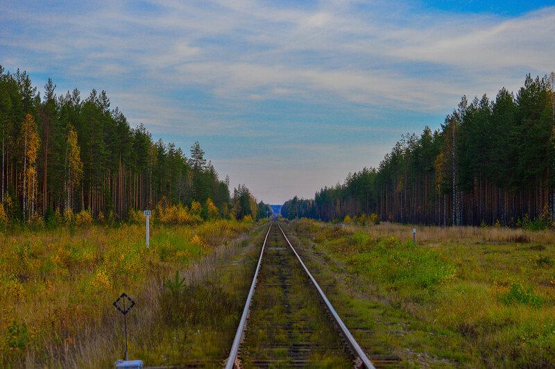 Осенняя Кирсинская набережная
