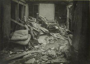 1916. 29 января. Урон, нанесенный атакой дирижабля