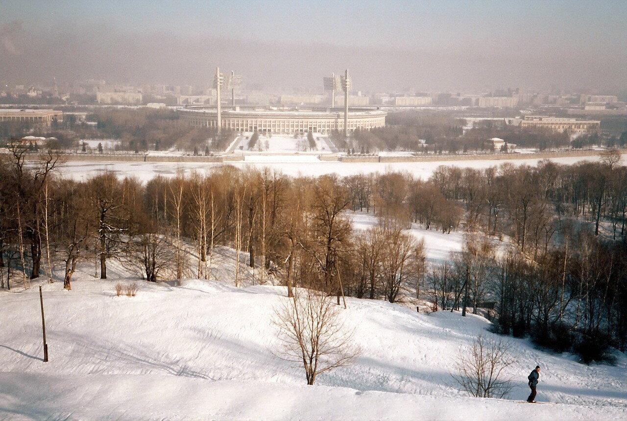 Москва. Лужники