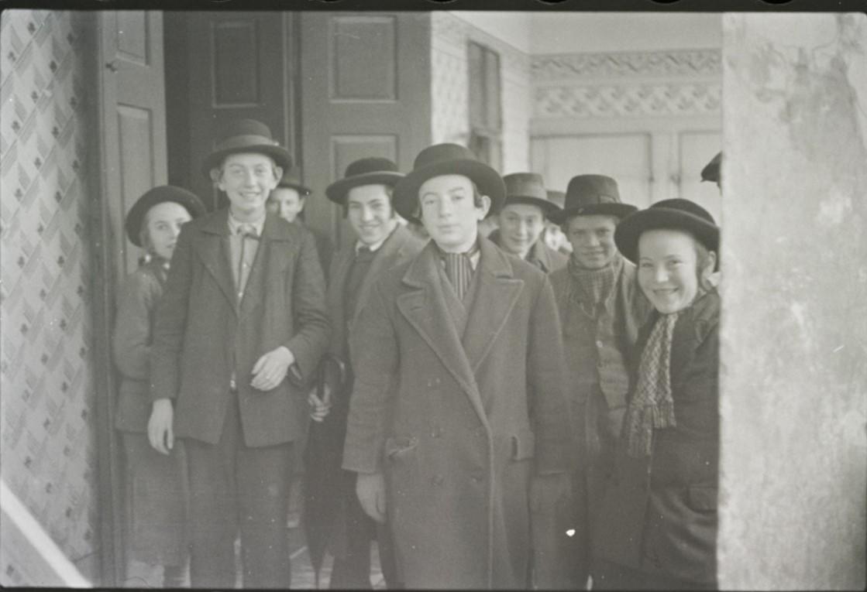 Ученики ешивы рабби Баруха Рабиновича