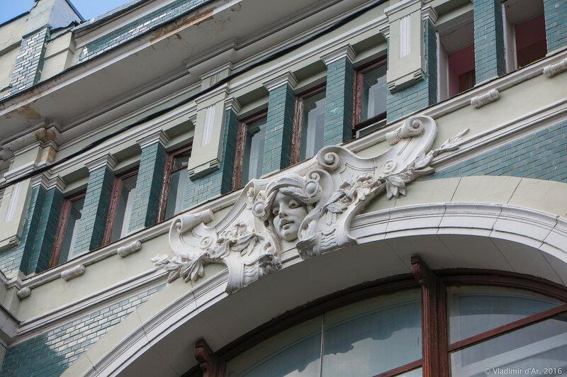 Дом Ф.О. Шехтеля для торгового дома В.Ф. Аршинова в Старопанском переулке