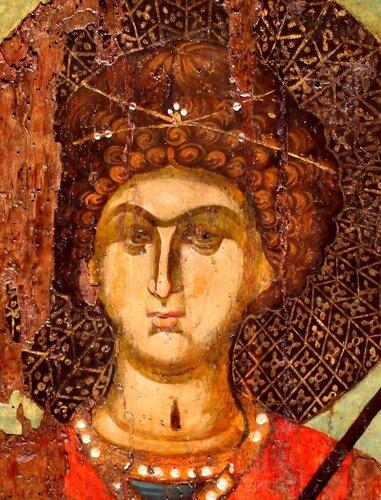 Святой Великомученик Георгий Победоносец.