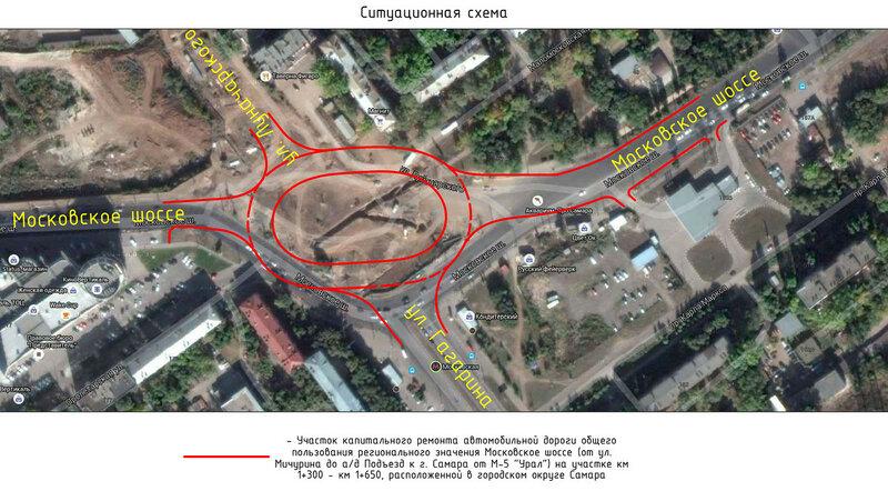 Кольцо Луначарского-Московского шоссе