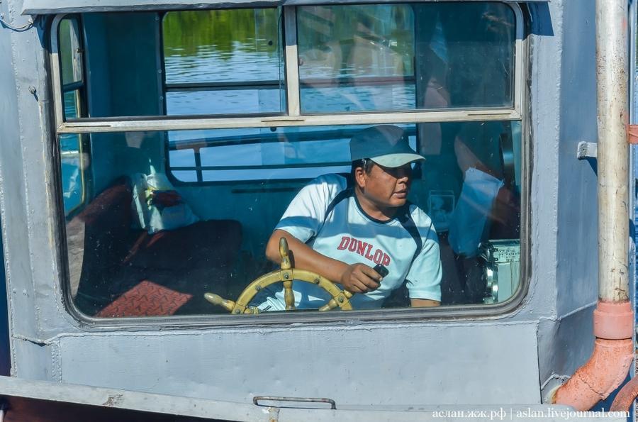 3. Наш капитан не местный, как и большая часть работников форелевого хозяйства. Как сказал Николай В