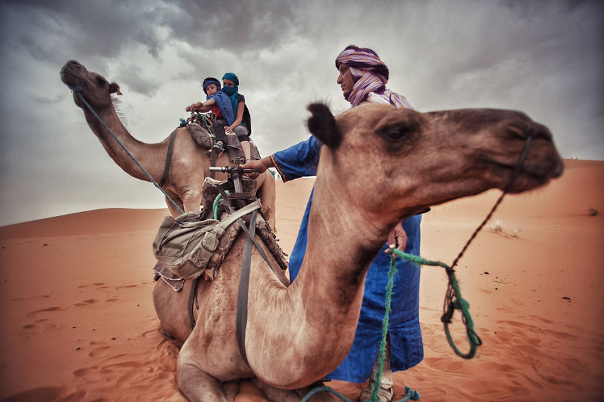 24. На верблюдах по Сахаре (Марокко)
