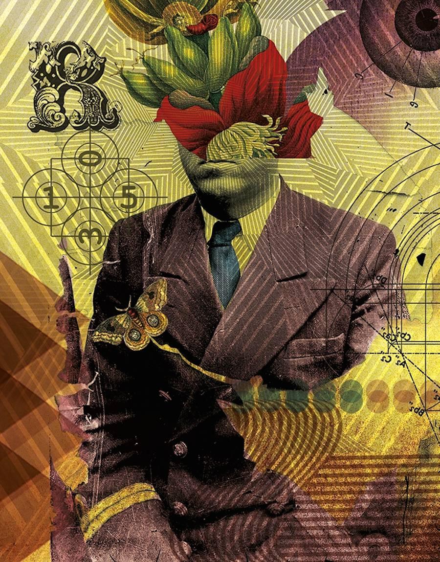 Винтажный сюрреализм от Eduardo Martinez