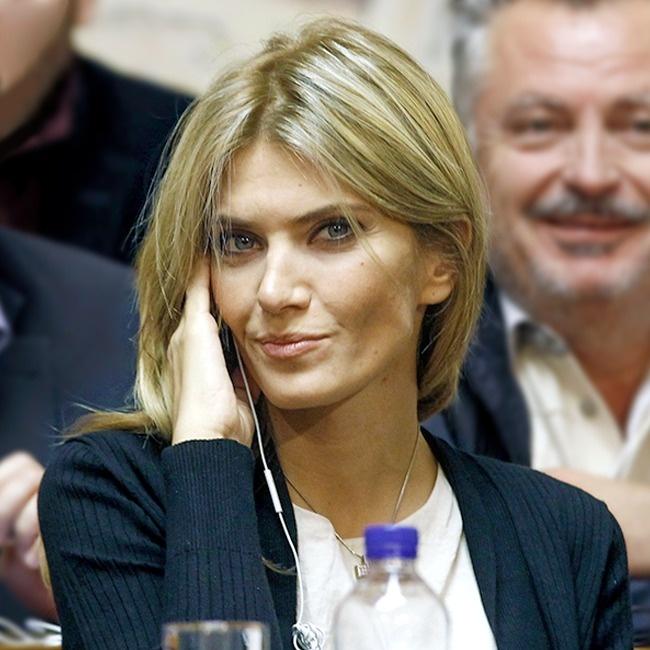 © pictures.reuters  В24года Ева впервые была избрана вгородской совет города Салоники. Она