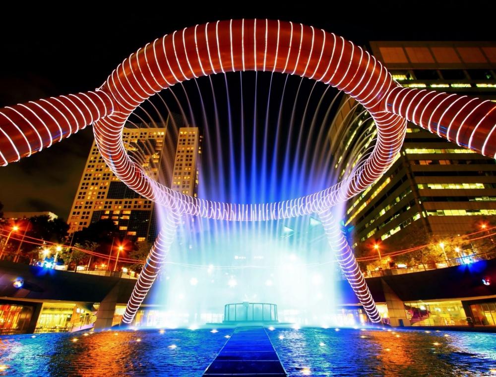 Фонтан «Богатство», Сингапур