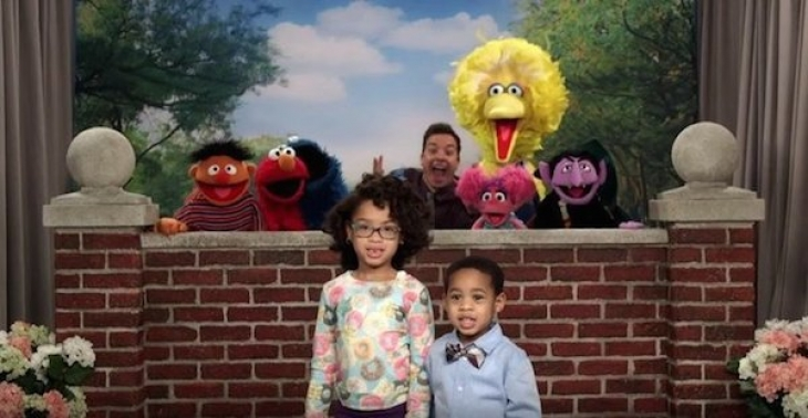 Джимми Фэллон cработался с ребятами из Muppet Show.