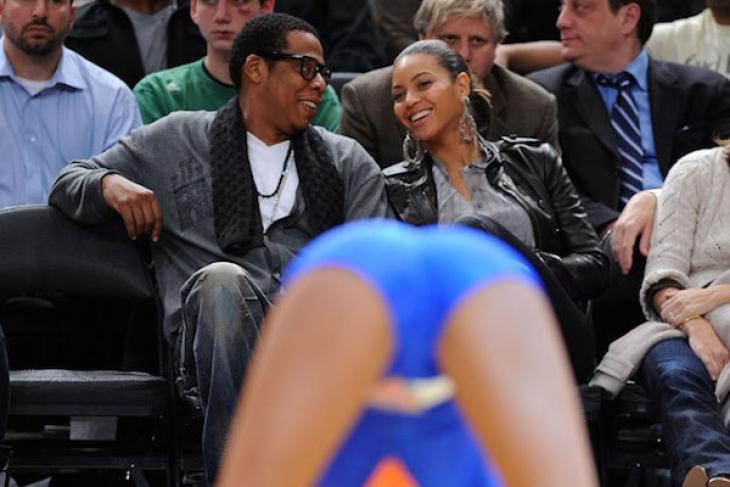 Бейонсе и Jay-Z.
