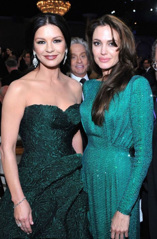Майкл Дуглас и Анджелина Джоли.