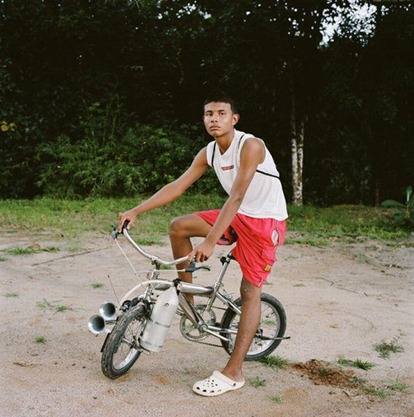 Панамские велосипедисты