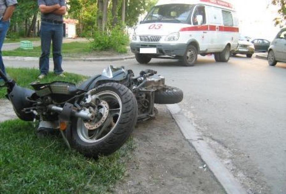 Ребенок умер при столкновении 2-х мотоциклов вПодмосковье