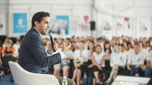 Посланник генерального секретаря ООН обсудил на«Территории смыслов» Всемирный фестиваль молодежи