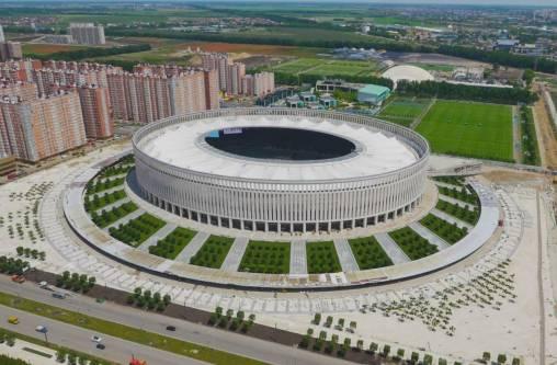 Новый стадионФК «Краснодар» получил отРФС сертификат высшей категории