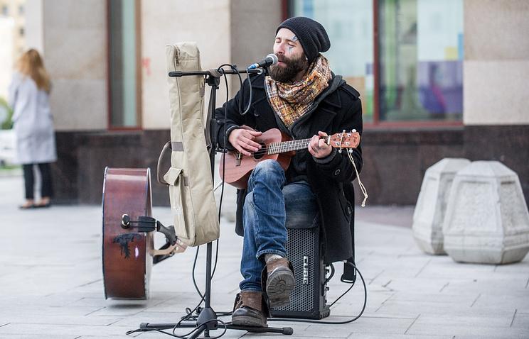 С1ноября в столице России стартует фестиваль «Уличные музыканты»
