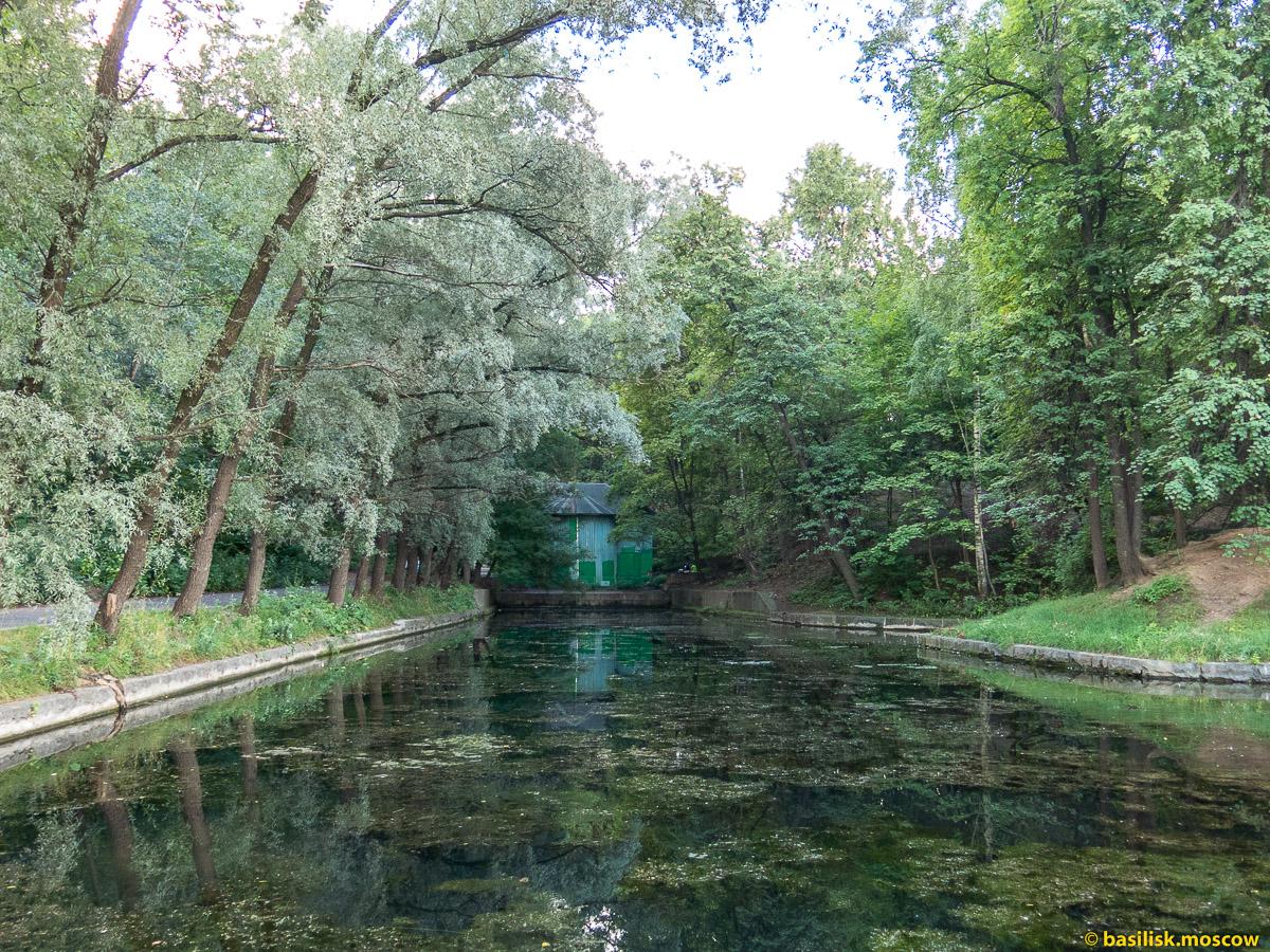 Нескучный сад. Пушкинская набережная. Июль 2016