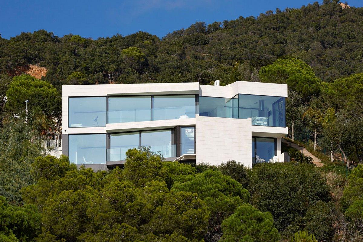 Энергоэффективный дом с видом на Средиземное море