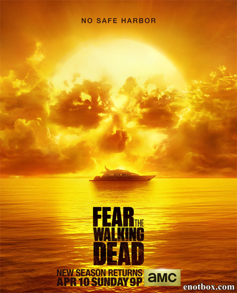 Бойтесь ходячих мертвецов / Fear the Walking Dead - Полный 2 сезон [2016, WEB-DLRip | WEB-DL 1080p] (LostFilm | AMC)