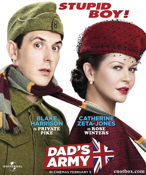 Папашина армия / Dad's Army (2016/WEB-DL/WEB-DLRip)