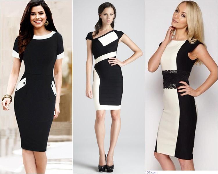 Классика модели платьев