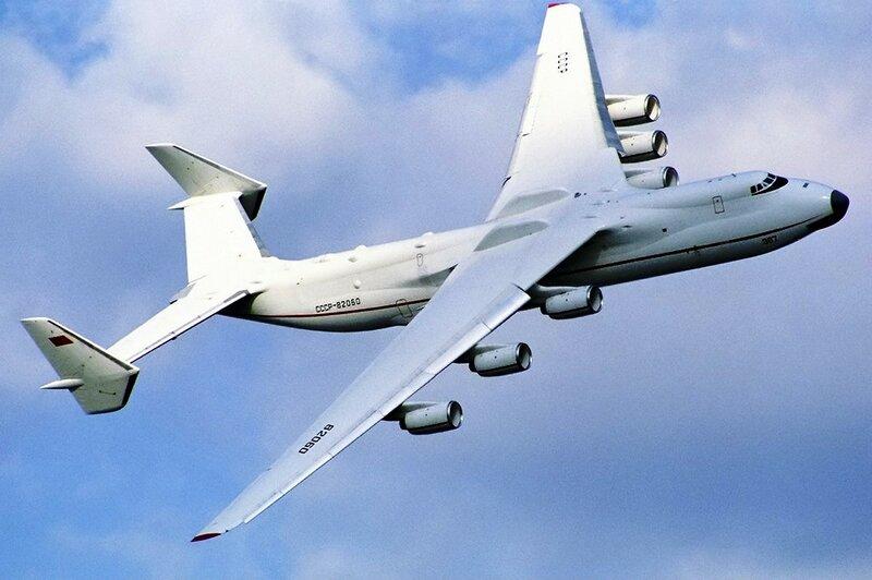 Грузовой самолёт Ан-225 на авиашоу Фарнборо-1990.jpg